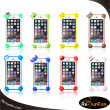New designed bumpers universal silicone,universal silicone phone case compatible with all phones