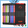 Hybrid heavy duty bumper rubber Case For Microsoft Nokia Lumia 435 case with stand