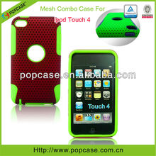 [2013 lastest design]2 in1 hybrid cases for ipod touch 4 cover