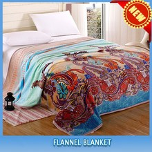 High Quality New Design 100% Polyester Printed Blanket/moving blankey china wholesale