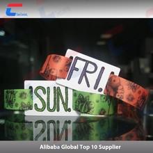 High quality LF 125khz em4100 rfid wristband for id management
