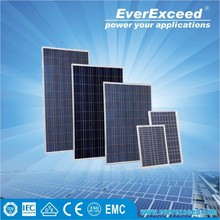EverExceed 100W Polycrystalline Solar Panel with TUV/VDE/CE/IEC Certificates