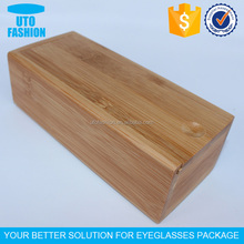 YT7502 Bamboo wooden sunglasses stroage case