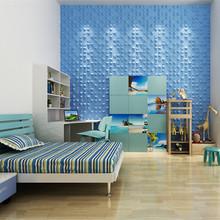 Fireproof decorative plastic wall panels