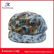 Hot Sale Cheap Men Women Outdoor Sport Hat W/ Floral Digital Printed