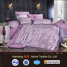 2015 new Jacquard embroidered designs alibaba china bedsheet