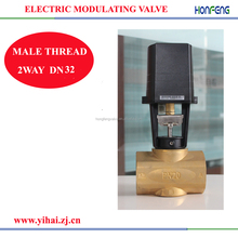 DN32-DN65 PI flow control with 0-10v or 4-20ma modulating control valve to
