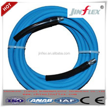 JINFLEX blue/black color jet washer hoses hydraulic hoses/rubber hoses