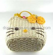 2012 fashion recycled straw bag