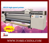 Allwin E512i solvent printer/tarpaulin printing machine