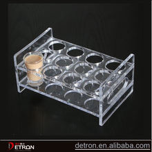 Customized clear acrylic novelty wine rack