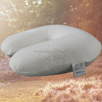 Travel Pillow/Latex Pillow For Airplane, Bus, Train, Car or Home Use