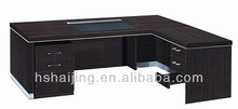 2014 Kenya Market MFC Metal Frame Modern Executive Office Desk with Return