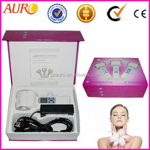 AU-015 promotion LCD ultrasonic hot cold hammer face massage beauty equipment