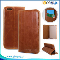 Wholesale leather wallet case for lenovo vibe p1m , pu leather cover for lenovo vibe p1m