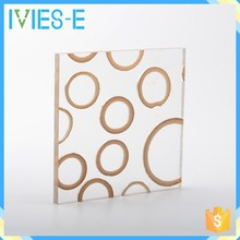 Ivies recycling used flexural ability decorative wall covering sheets