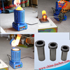 Electric Aluminum Crucible Melting Furnace for Sale