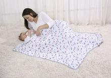 baby chinese style blanket muslin swaddle blanket organic baby swaddling blanket cotton