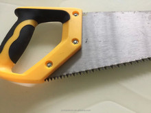 duckbilled colorful handle hand saw