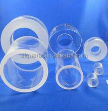 Clear Polished Long Thick Wall Quartz Glass Tube