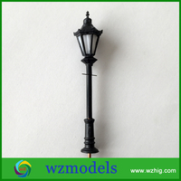 emergency light models/ model street lights/ lighted palm trees