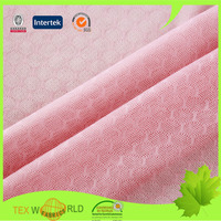 Stretchy jacquard polyamide lycra undergarment fabric