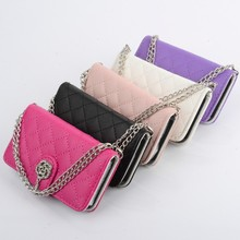 Fashion Luxury Bling Diamond Wallet Stand Flip Leather PU Phone Bag Case For Samsung Galaxy S4 i9500