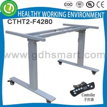 Healthy electric height adjustable working table &steel office table frame &new model height adjustable desk for wholesale
