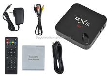 Chromecast Arabic Tv Internet Box, Quad Core Android Tv Box Mxiii M82 Amlogic S802, Black Box Iptv