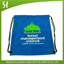 Factory Price Commercial 210D Polyester Backpack/strong drawstring backpack bag