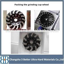 diamond cup wheel for ceramic cutting tools