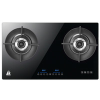 World First Heat Recycle Intelligence europe embedded gas stove 2 burner
