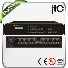 ITC VGA Series Built in LCD Optiional Inputs and Outputs Seamless VGA Matrix Switcher