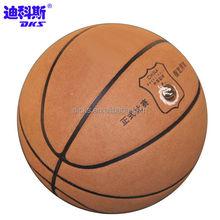 Indoor Microfiber in Bulk Sale Basketball/Customized Basketball