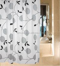 waterproof bathroom window curtain shower