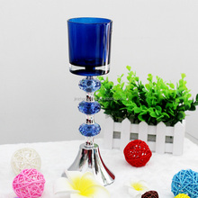 long-stemmed glass candle holder,Glass candle holder table centrepieces wedding favours