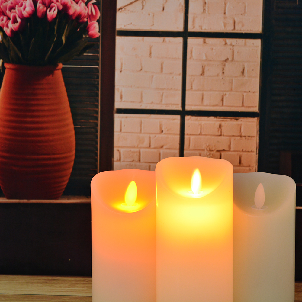 Remote Control Flameless CandlesHome Decor Buy Remote