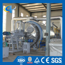 Waste tyre/ rubber /plastic pyrolysis plant with high output