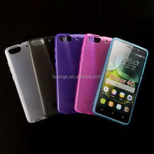 Mobile accessories Ultra Thin Transparent Silicon Cover popular tpu case for huawei hpnor 4c china suppliers