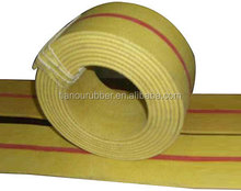 Flat rubber belt in driving from China transmission supplier