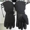 Hot selling goatskin leather palm thinsulate winter warm work glove
