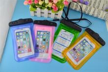 Wholesale OEM pvc waterproof bag for iphone