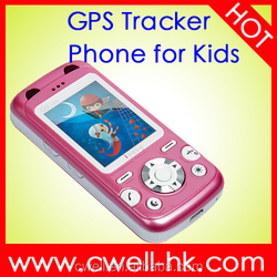 Small Mini Size Personal GPS Tracker Kids Mobile Phone a-GPS tracker
