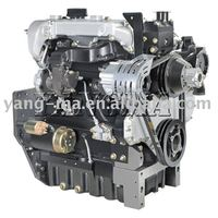 Water-cooled 4 cylinder 4-stroke ZH4100G14-3 diesel engine