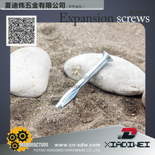 Factory direct sales Zinc Plated Through Bolt/ Wedge Anchor