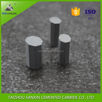 K30,K40,YG8 wholesale tilted tungsten carbide octagonal tips for using as a wear parts
