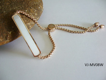 2015 New Arrival Fashion Beautiful Ladies Bracelet, Gold Bracelet, PVD Plating Bracelet Manufacture