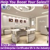Store Fixture Stainless Steel Retail Jewellery Shop Fitting