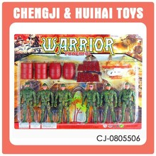 6PCS set plastic warrior model small soldier toy for sale