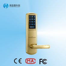 high quality low price password pin code door lock for apartment used